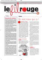 Le Fil Rouge - mars 2016