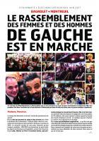 Législatives 2017: le rassemblement des femmes et des hommes de gauche est en marche!